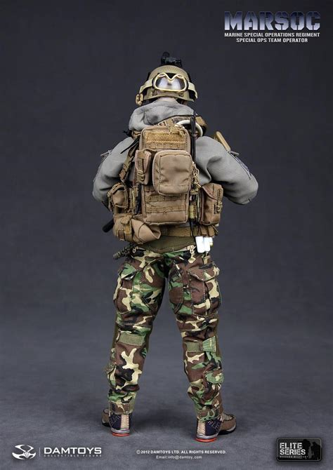 Preview DAM Toys 1/6 scale MARSOC Special Ops Team