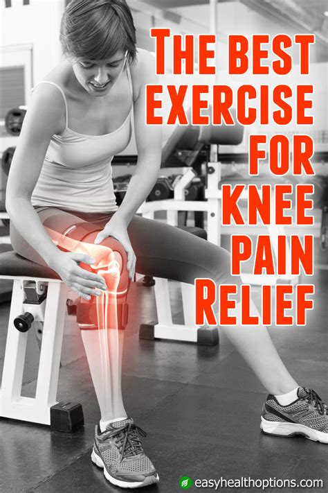 The best exercise to alleviate knee pain